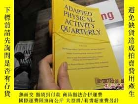 二手書博民逛書店ADAPTED罕見PHYSICAL ACTIVITY QUART