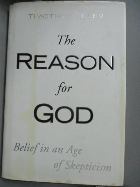 【書寶二手書T1/宗教_XFC】The Reason for God: Belief in an Age of Skepticism_Keller