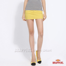 BRAPPERS 女款 新美腳Royal系列-彈性迷你裙-黃