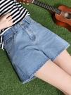 高腰牛仔超短褲 女夏季2020新款外穿韓版寬鬆顯瘦a字闊腿大尺碼熱褲  降價兩天
