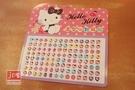 Hello Kitty 凱蒂貓 造型56對耳貼 黑蝴蝶結 952828