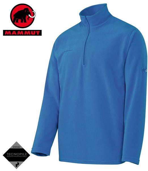 丹大戶外用品【MAMMUT】瑞士長毛象Yukon Trim Men 男款休閒保暖套衫 型號1040-00120-5528水藍