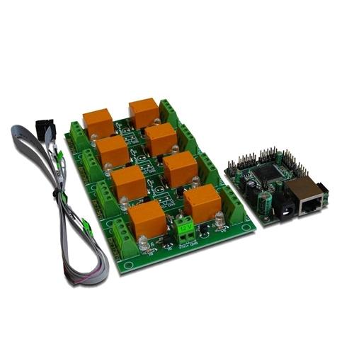 [2美國直購] denkovi 繼電器模組 Web SNMP controlled 8 Relay Board DAEnetIP2 DAEnetIP2 DAE-RB/Ro8-12V