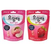 Binggrae 乳酸軟糖(48g) 水蜜桃/草莓 款式可選【小三美日】