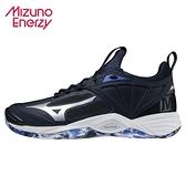 MIZUNO WAVE MOMENTUM 2 男款 排球鞋 排羽球 ENERZY 靛青 V1GA211202 21FWO
