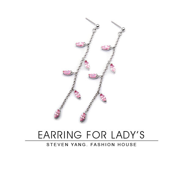 耳環 正白K飾「維納斯之戀」耳針式 時尚名媛 一對價格 多款任選