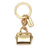 COACH 金色波士頓包造型鑰匙圈(金色)198283-2