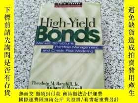 二手書博民逛書店High罕見Yield Bonds26171 Theodore