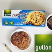 Gullon穀優燕麥黑巧克力豆消化餅265g 愛家嚴選 純素口糧 全素好吃零食 健康素食點心 原裝進口