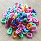 頭飾髮圈  小髮圈 寶寶髮圈頭繩 髮束髮繩 多花色 一包(約100條) 88027
