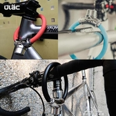 永久優力山地自行車鎖圈鎖防盜鋼纜鎖便攜迷你環形鎖小型軟鎖單車 夢娜麗莎