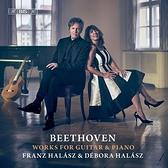 【停看聽音響唱片】【SACD】貝多芬:吉他與鋼琴作品集 法蘭茲 吉他 黛博拉 鋼琴