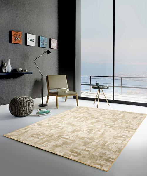 地毯 范登伯格 渲染 復古刷舊風地毯-淺棕100x150