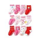 寶寶襪子12雙入 多花色卡通童襪組 88721