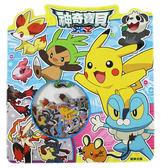 【卡漫城】 神奇寶貝 閃亮 貼紙 ㊣版 台灣製 50種 裝飾貼 Pokemon 精靈 寶可夢 貼紙包 造型貼 雷射