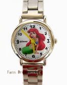 【卡漫城】小美人魚 公主 不鏽鋼 錶帶 手錶 ㊣版 愛麗兒 Ariel 人魚公主 兒童錶 卡通錶 女錶