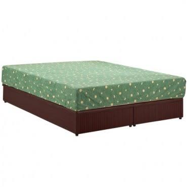 【Homelike】麗緻6尺床台-雙人加大(三色可選)胡桃木紋