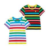 WHY AND 1/2 條紋棉質萊卡T恤 11Y~14Y以上 多色可選