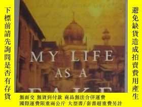 二手書博民逛書店英文原版罕見My Life as a Fake by Peter