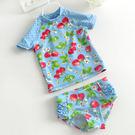 甜美女童嬰幼兒防曬遊泳衣 小童寶寶分體主...