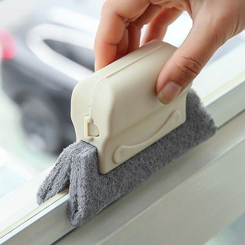 窗戶槽溝清潔刷 紗窗槽清洗工具 窗溝刷 (顏色隨機出貨)