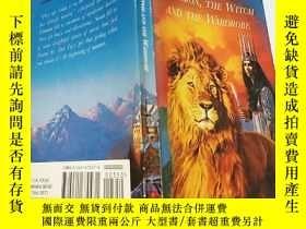 二手書博民逛書店the罕見lion the witch and the wardrobe:獅子,女巫和衣櫃Y200392