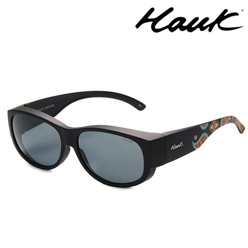 HAWK偏光太陽套鏡(眼鏡族專用)HK1002-73