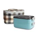 【丹露】雙層隔熱餐盒S304-600-2F