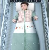 寶寶睡袋嬰兒秋冬季純棉小孩兒童防踢被神器中大童加厚四季通用款 夢露