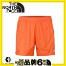 【The North Face 男 FlashDry運動短褲《橘》】3CE9/運動短褲/快乾短褲/慢跑褲