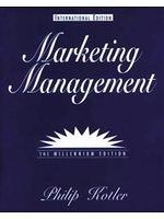 二手書博民逛書店《Marketing Management (Internati