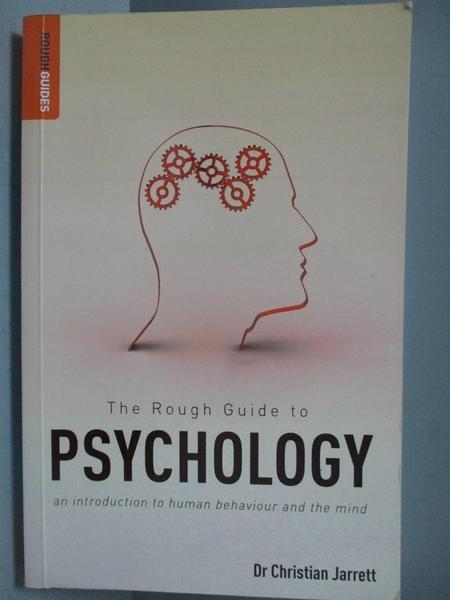 【書寶二手書T3/心理_IBN】The Rough Guide to Psychology_Christian Jarr