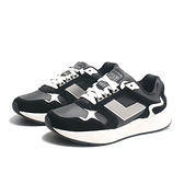 PONY 休閒鞋 MODERN 黑白 麂皮 老爹鞋 (布魯克林) 91W1MD01BK