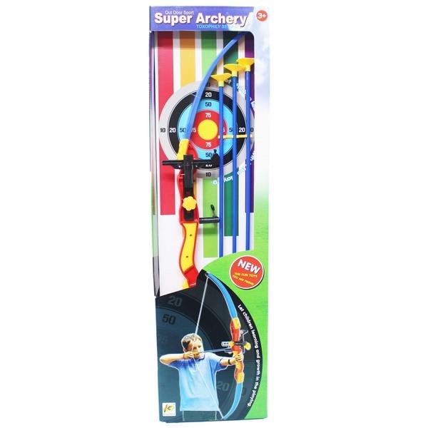 紅外線 兒童弓箭射擊玩具組 吸盤弓箭組 980/一組入(促399) 童玩玩具 弓長77公分 3支吸盤箭43cm-CF110816