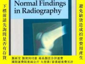 二手書博民逛書店Normal罕見Findings in Radiography-x線檢查正常Y361738 Torsten B