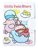 【卡漫城】 雙子星 白底綿羊 防水 護照套 ㊣版 Kikilala Twin Stars 證件套 可扣式 卡片套 收納本