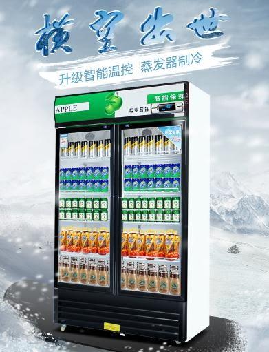 冰箱 维仕美冰柜商用立式展示柜冷藏柜超市冰箱饮料柜单门双门保鲜柜igo 維科特3C
