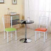 靠背椅批發麻將椅白餐桌椅餐椅成人