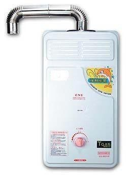 【和家牌】戶外強制排氣微電腦熱水器  HE-1 / HE1 (加贈瓦斯調整器)