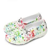 LIKA夢 PONY 防水透氣GOGO洞洞休閒走路鞋 Tropic D系列 水彩白 82U1SA62OW 女