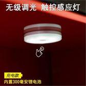 汽車載LED觸摸感應燈車內閱讀裝飾燈后備廂照明車頂后排燈應急燈