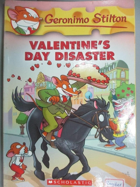 【書寶二手書T2/原文小說_IHS】Valentine's Day Disaster_Stilton, Geronimo