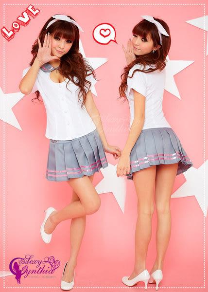 【愛愛雲端】校園甜姐兒!爆乳 二件式 學生服 角色扮演 NA11030015