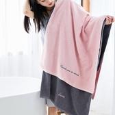 浴巾純棉成人柔軟超強吸水男女酒店大號速幹毛巾個性全棉情侶浴巾   LannaS