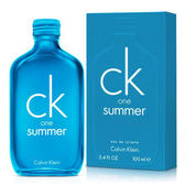 CK one Summer 中性淡香水 2018夏日限量版 100ml【娜娜香水美妝】Calvin Klein