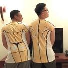 肌肉男T恤假腹肌胸肌衣服比基尼t個性短袖搞怪快手3D立體膚色上衣 星河光年