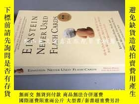 二手書博民逛書店Einstein罕見never used flash cards