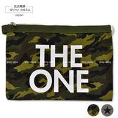 平板收納袋(L)-日本直送 旅行用 扁平帆布包-迷彩.星星-玄衣美舖