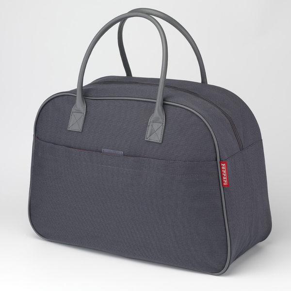 Ferrari 法拉利 原廠鐵灰色旅行袋【美人密碼】