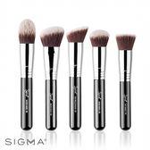 Sigma 專業底妝彩妝刷具5件組 Sigmax Kabuki Brush Kit - WBK SHOP